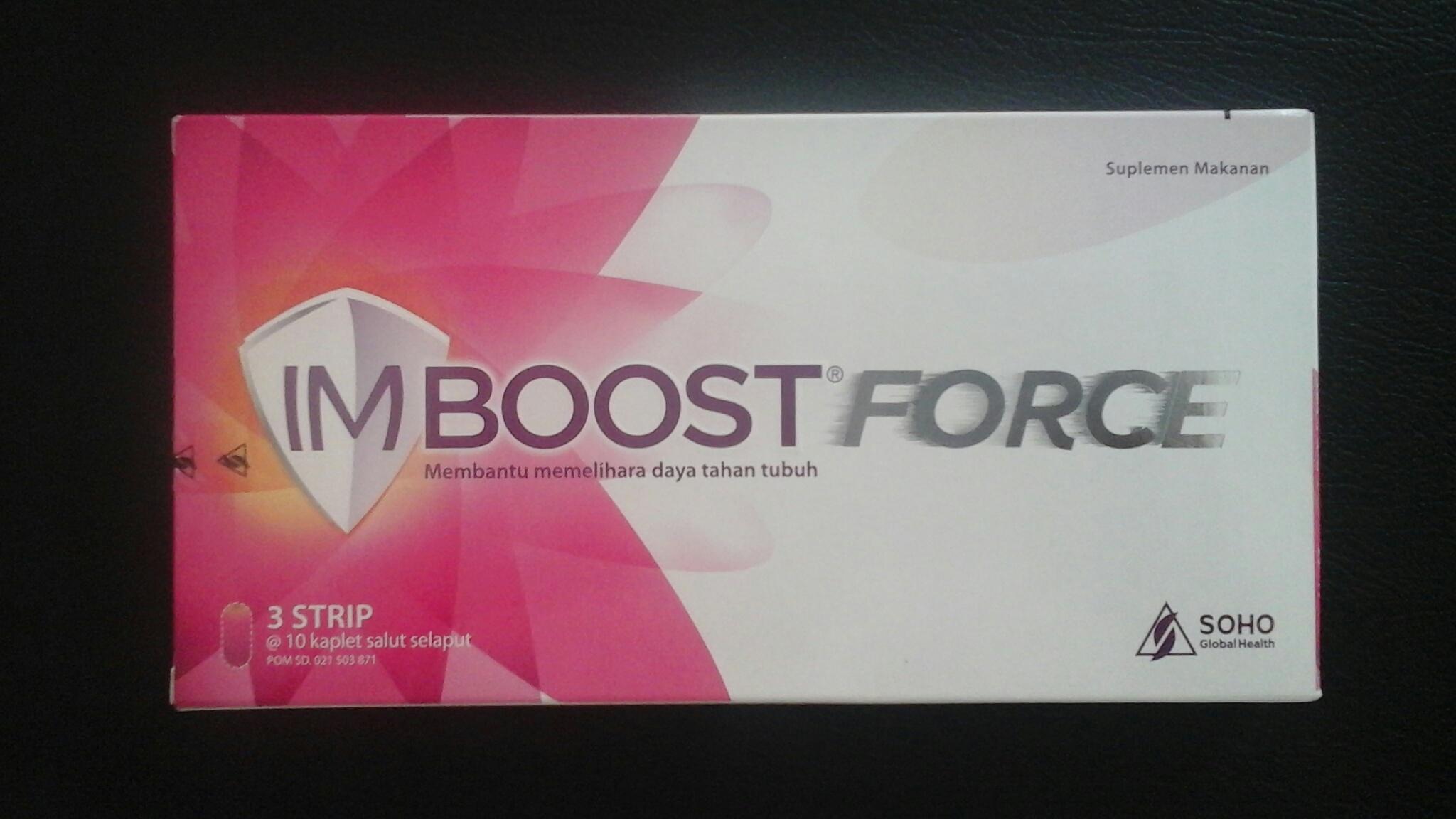 Obat Imboost Force | Suplemen Makanan