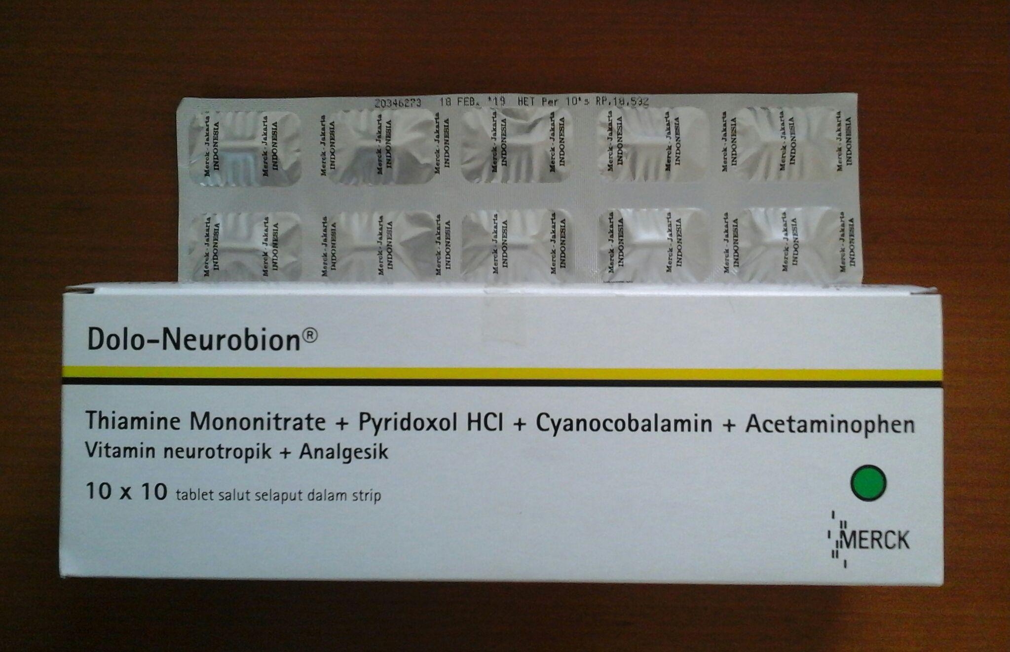 Obat Dolo-Neurobion | Vitamin Neurotropik dan Analgesik