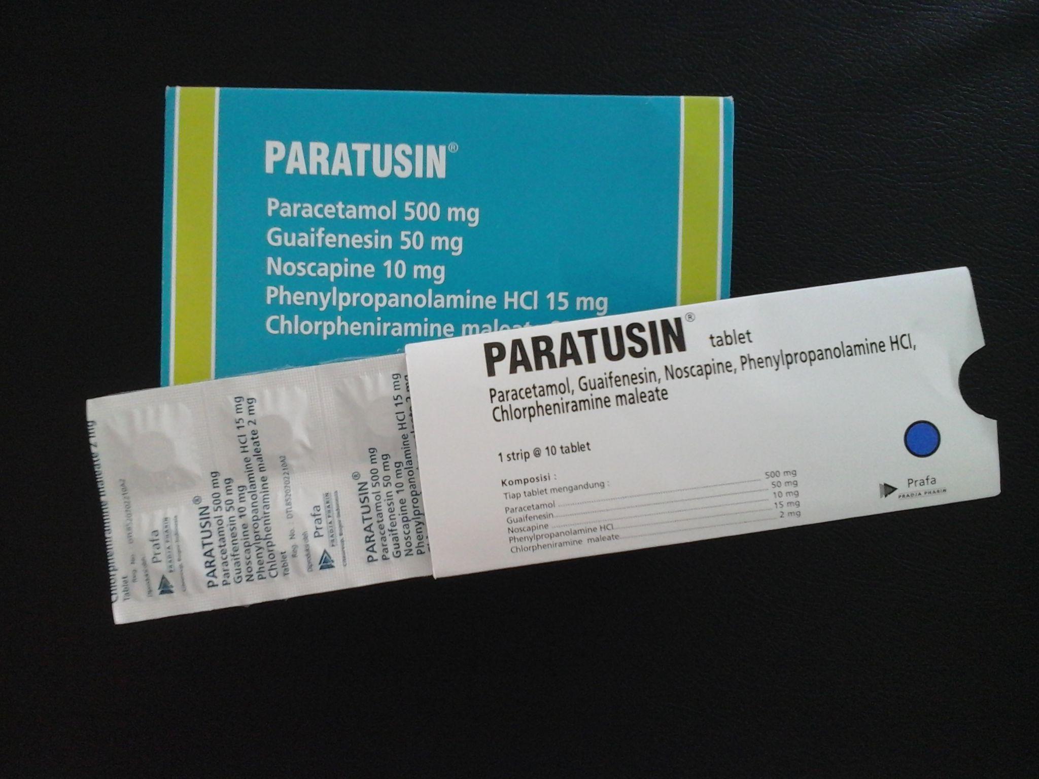 Obat Paratusin Tablet Perawatan Kesehatan